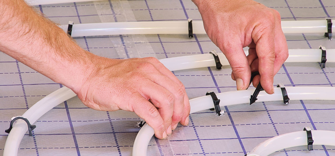 Taker montażowy klipsów podłogówki